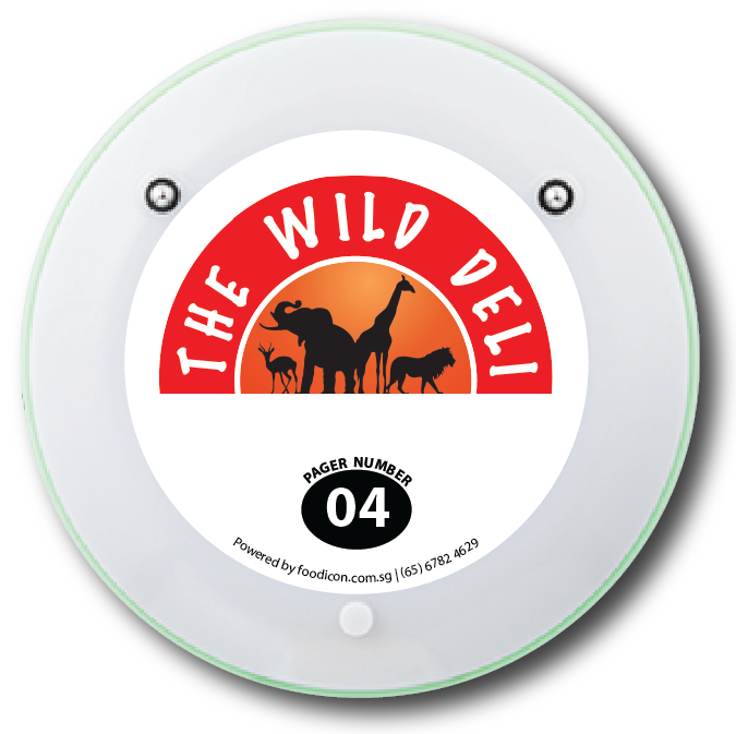 Food Icon Paging System - The Wild Deli