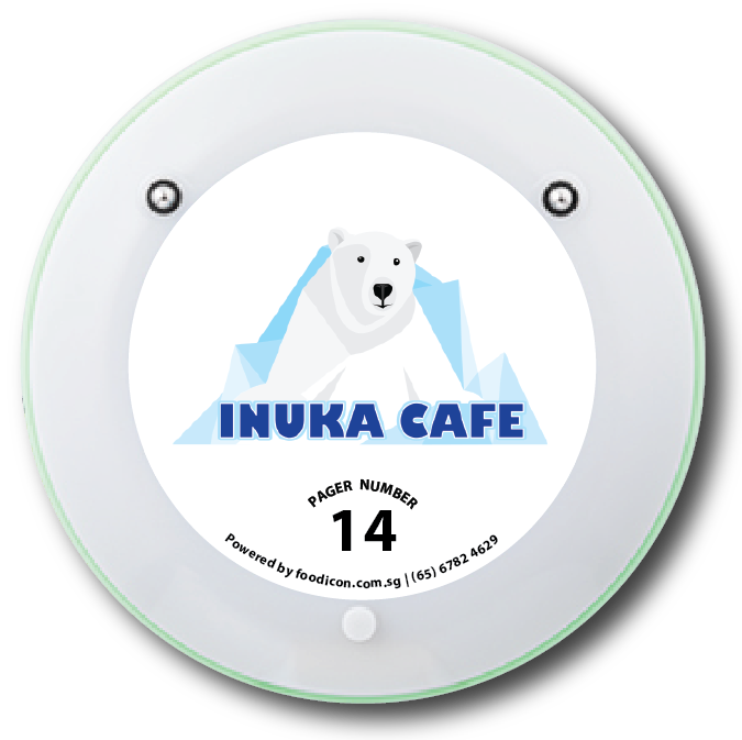 Food Icon Paging System - Inuka Cafe