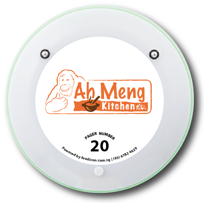 Food Icon Paging System - Ah Meng Kitchen