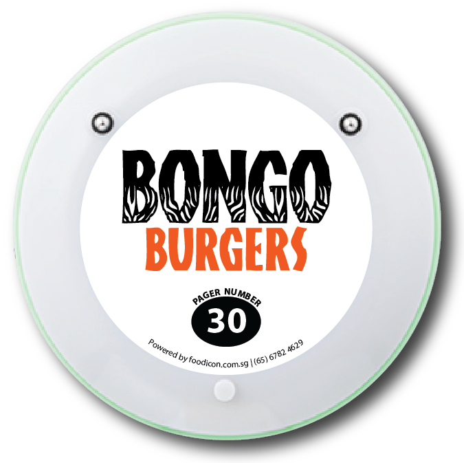 Food Icon Paging System - Bongo Burgers