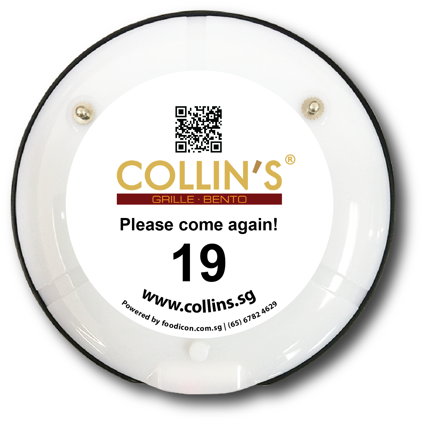 Food Icon Paging System - Collin's