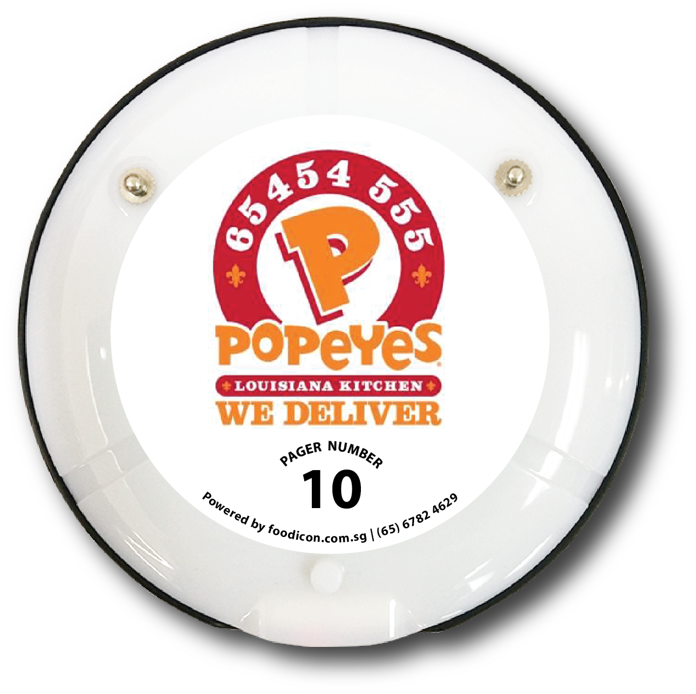 Food Icon Paging System - Popeyes