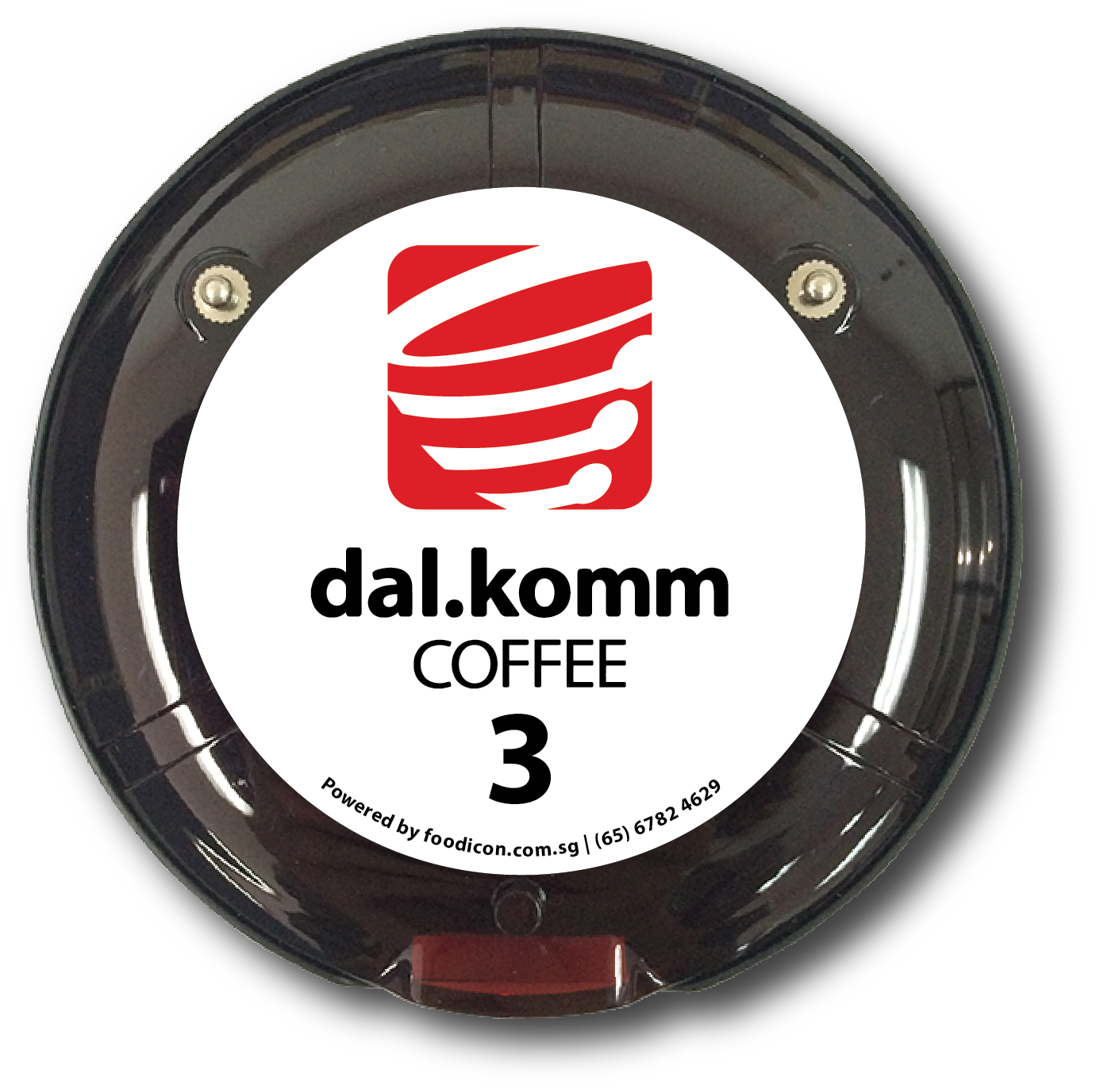 Food Icon Paging System - dal.komm Coffee