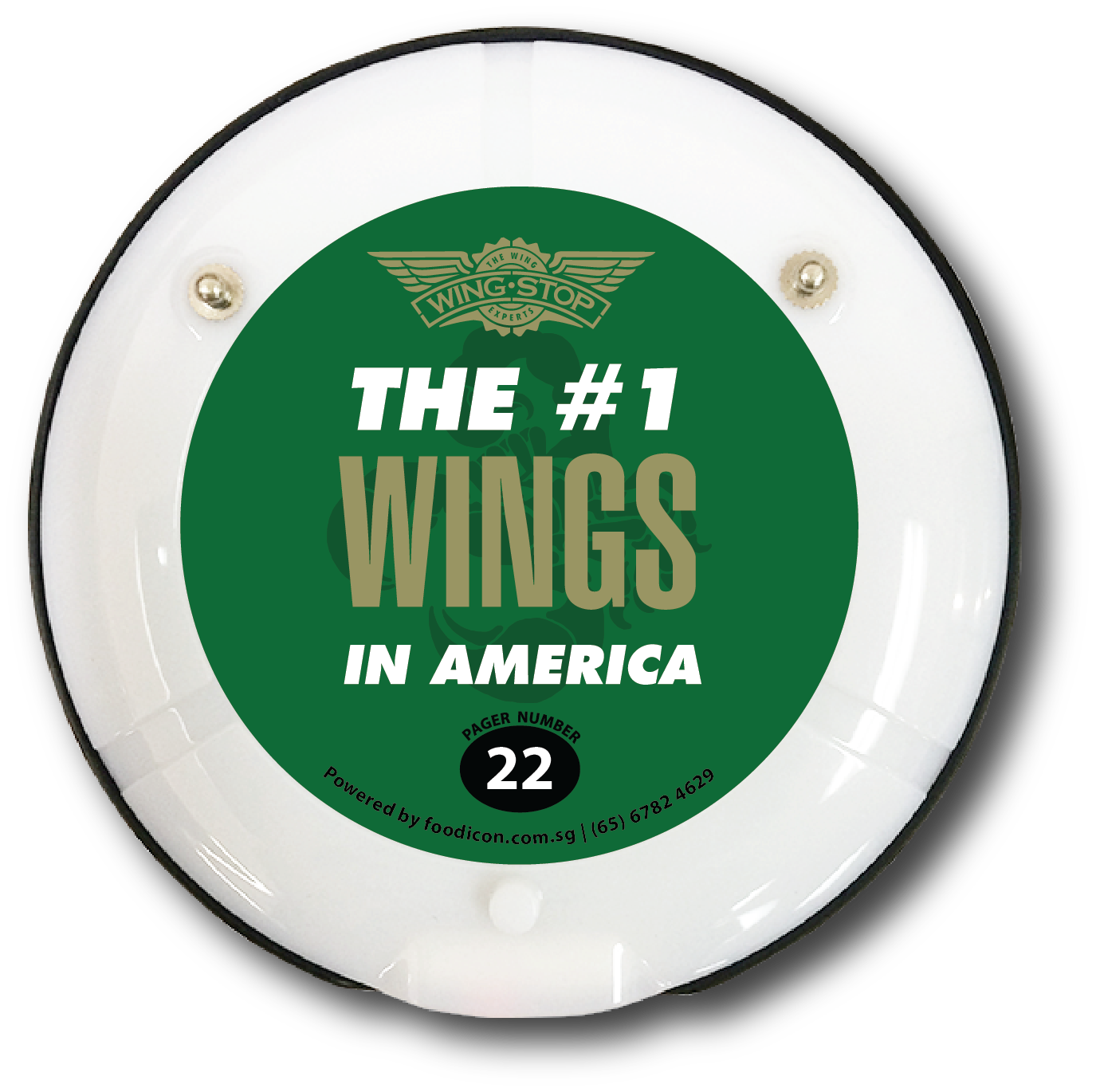 Food Icon Paging System - Wing Stop