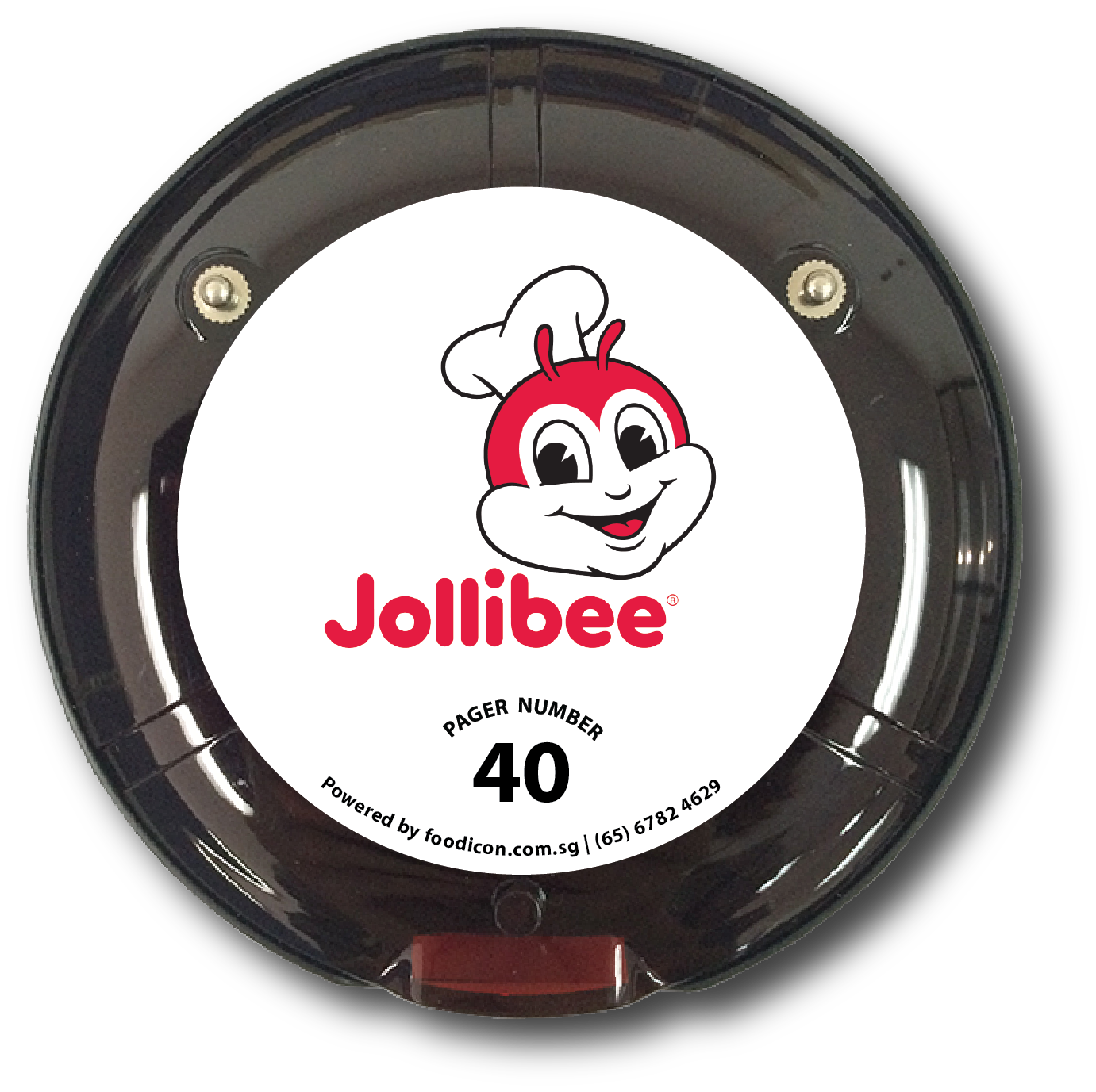 Food Icon Paging System - Jollibee