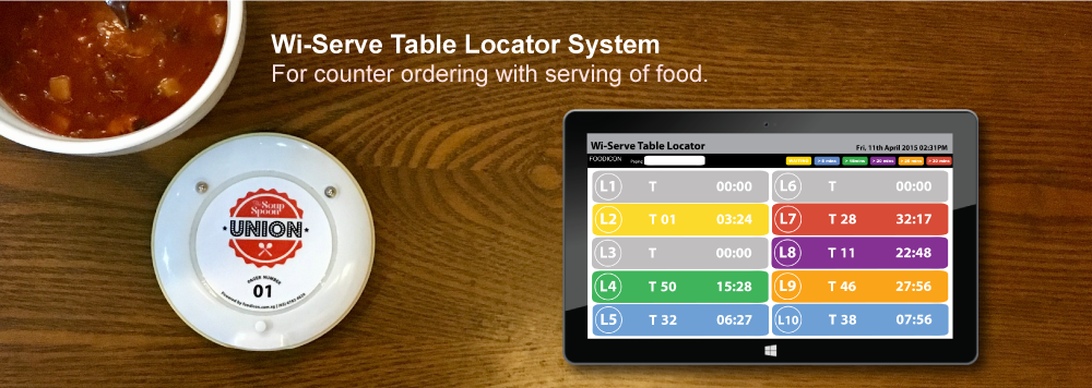 Table Locator System